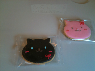 ネコの焼き菓子