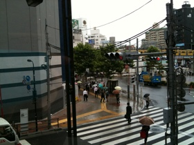 高田馬場駅前交差点