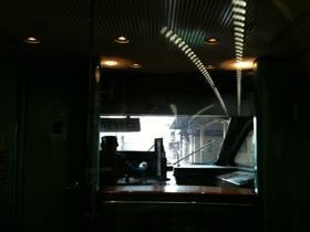 ソニック1号車から前方を見る