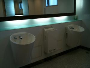 長良川SAのトイレ
